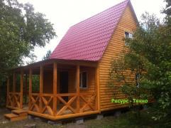 Будиночки дачні з дерева на замовлення
