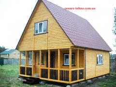 Country houses are inexpensive at any time of the year